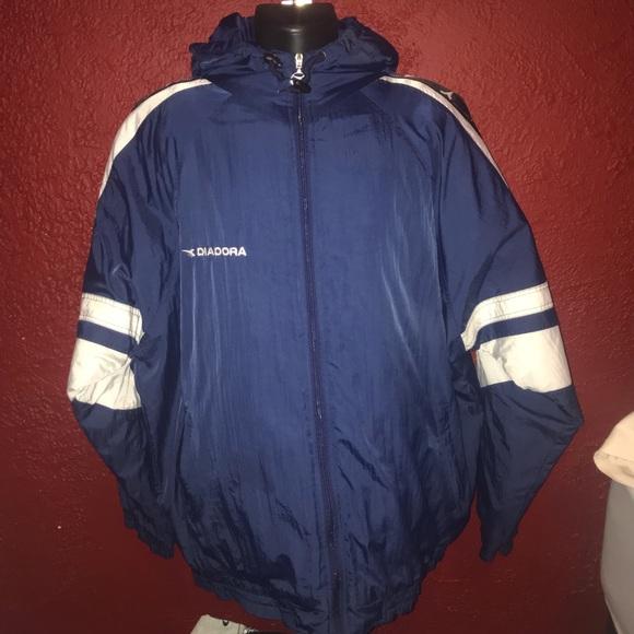 d26eb0a91 Diadora Jackets & Coats | Vintage Thick Rain Jacket Xl | Poshmark